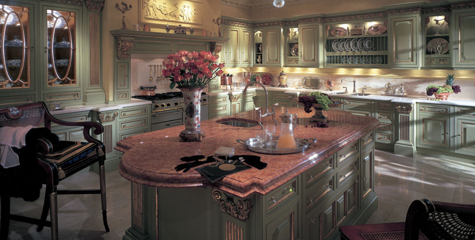 Which clive christian gourmet kitchen do you prefer for Rich kitchen designs