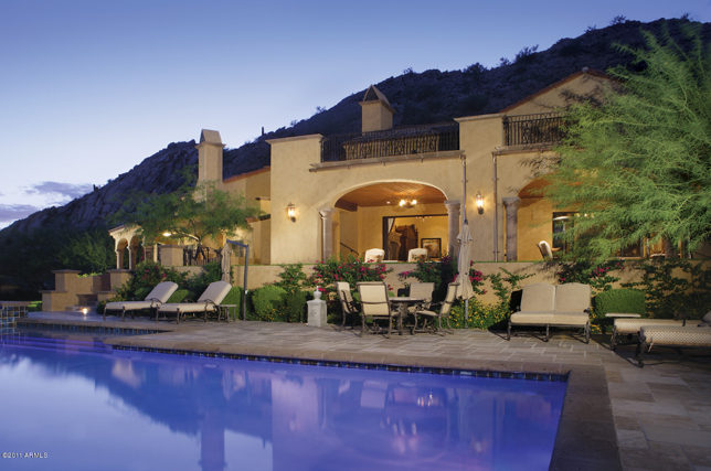 Tuscan Style New Build In Scottsdale, AZ