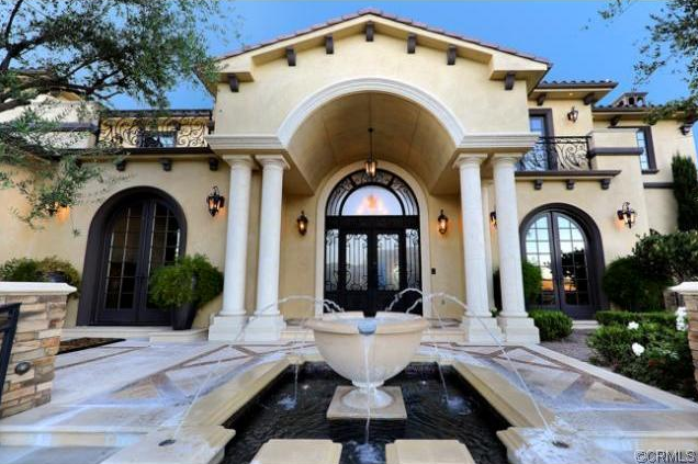 Tuscan Style Mansion In Chino Hills Ca Homes Of The Rich