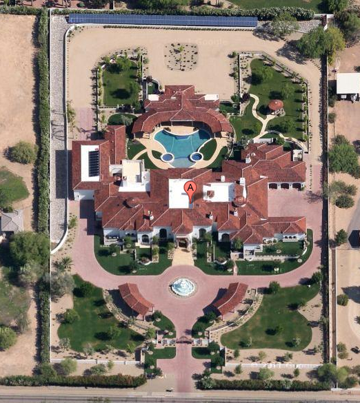 A Look At Some Newly Built Mansions Homes Of The Rich
