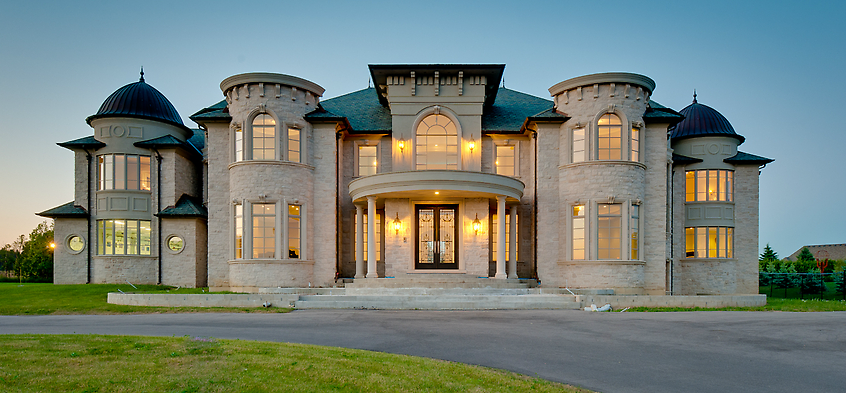 Grand 15,000 Square Foot Mansion In Vaughan, Ontario