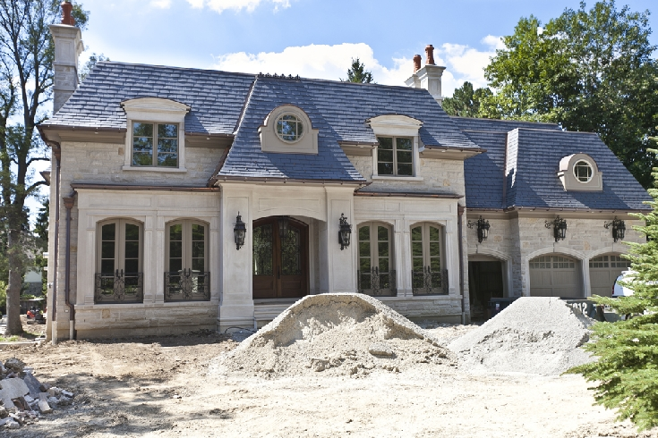 9 700 square foot french inspired home in ontario canada for French inspired homes