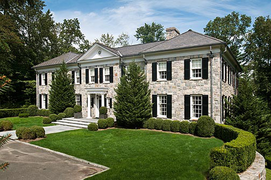 11 000 Square Foot Georgian Colonial In Greenwich Ct