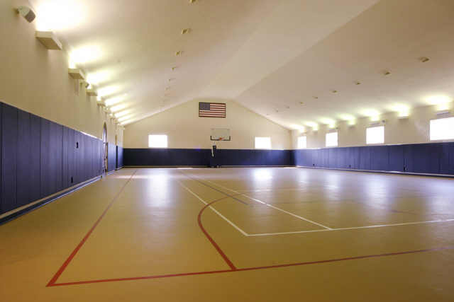 15 000 square foot mansion in fresno tx with indoor for How many square feet is a basketball court