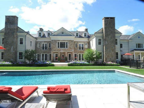2009 Built 13,000 Square Foot Georgian In New Canaan, CT