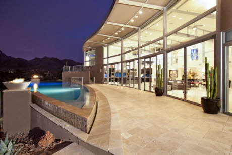 $5 Million Contemporary Mansion On The Auction Block In Paradise Valley, AZ
