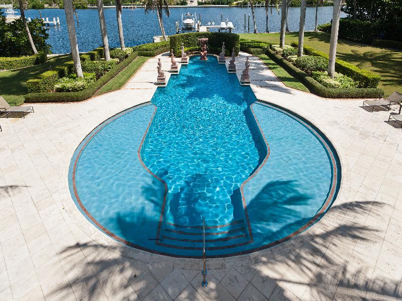23,000 Square Foot Mediterranean Mega Mansion In Manalapan, FL