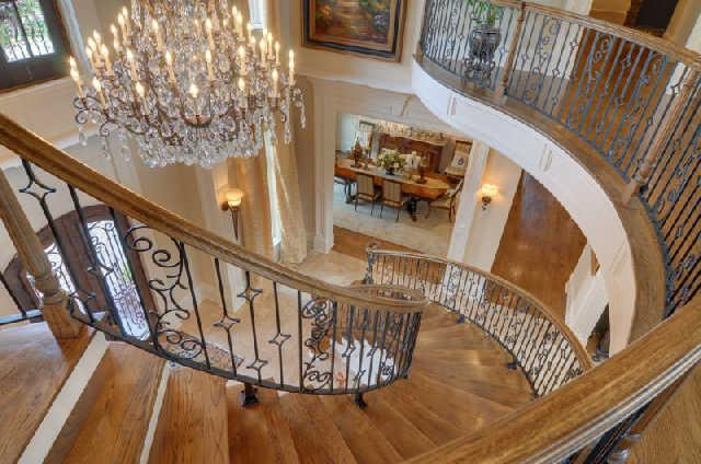Nice Curved Staicase In Tn Luxury Stairs Gallery