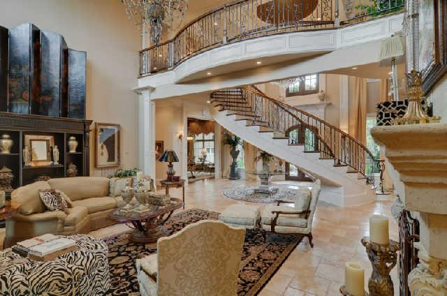 15 000 Square Foot Mansion In The Governor S Club In