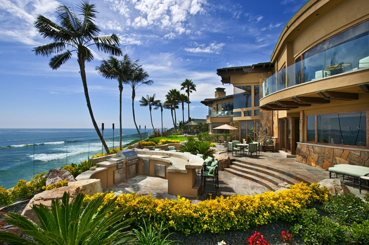 Trophy Oceanfront Estate In Carlsbad, CA