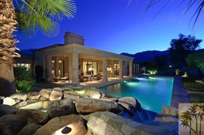 11,000 Square Foot Home In La Quinta, CA With Full Size Indoor Basketball Court