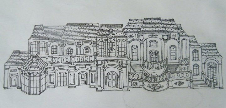 A Homes Of The Rich Reader S Mansion Drawings Homes Of