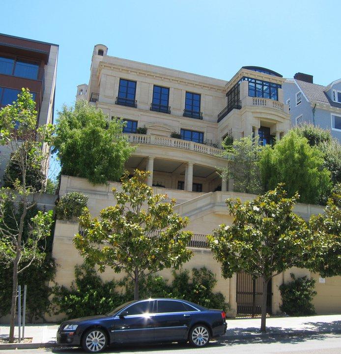 Billionaire peter sperling s san francisco limestone for Billionaire homes for sale