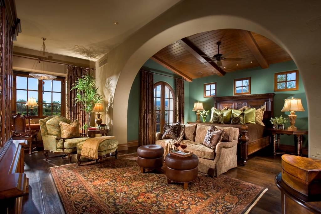 Beautiful spanish hacienda in la quinta ca homes of the for Hacienda ranch style homes
