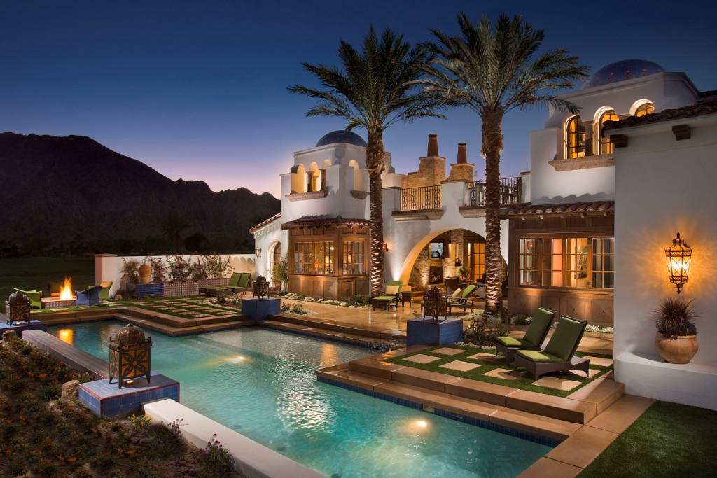 Beautiful Spanish Hacienda In La Quinta CA Homes of the  : 335960 from homesoftherich.net size 1024 x 683 jpeg 93kB