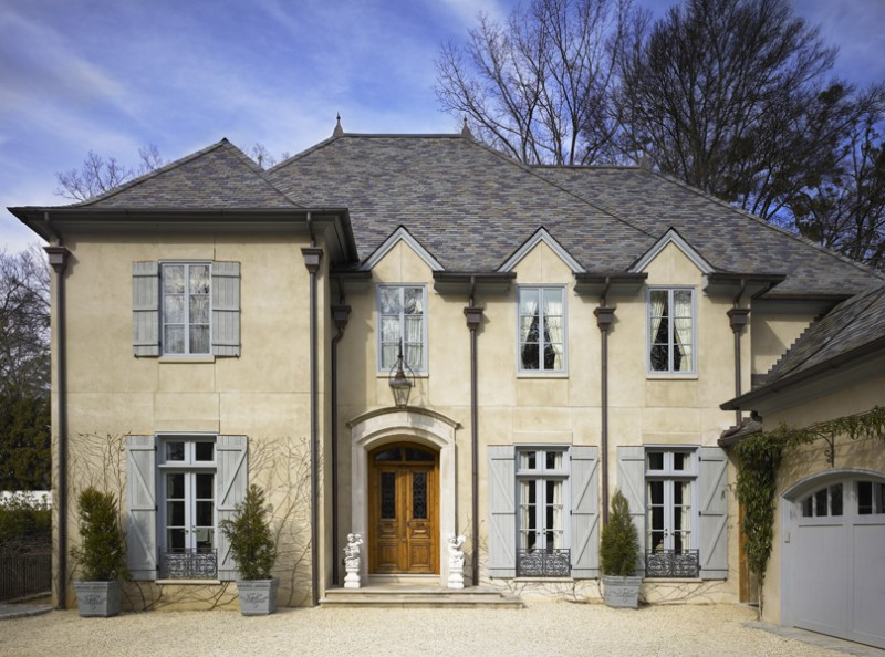 Lovely french provincial home in atlanta ga homes of French country architecture residential