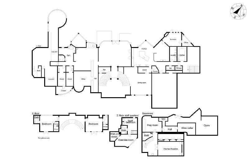 $3.9 Million Gated Contemporary Home In Atlanta, GA