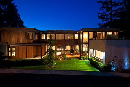 $25 Million Contemporary Home In Vancouver, BC