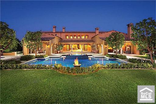 14,000 Square Foot Mediterranean Mansion In Irvine, CA