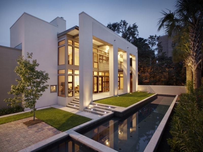 Contemporary Residence In Historic Savannah Ga Homes Of