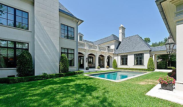 12,000 Square Foot French Inspired Home In Highland Park, TX