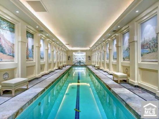 Which Indoor Lap Pool Do You Prefer? | Homes of the Rich
