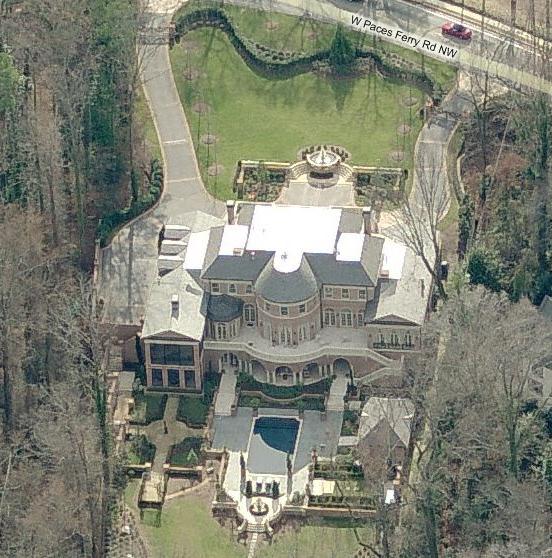 Bill Baker Designed Mansion In Atlanta, GA