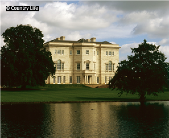 Tusmore Park – A Beautiful Palladian Revival Mansion In Oxfordshire