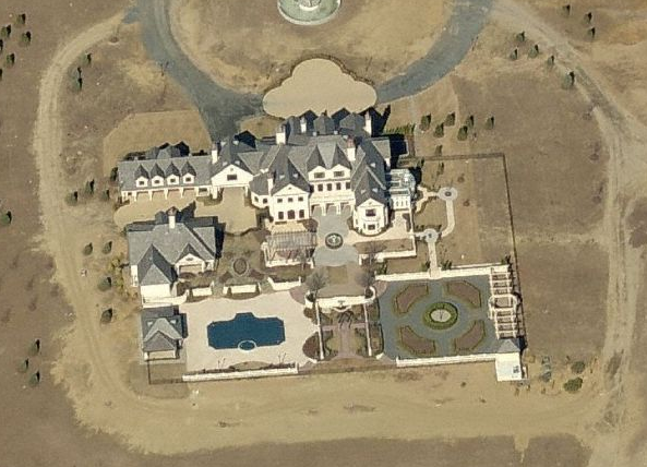 Guess The Square Footage Of This Mega Mansion!