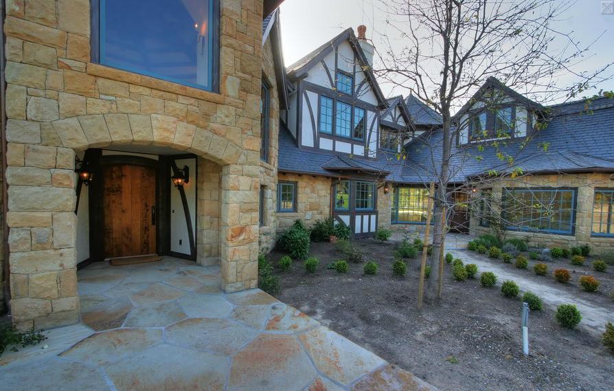 English tudor new build in santa barbara ca homes of for New house santa barbara