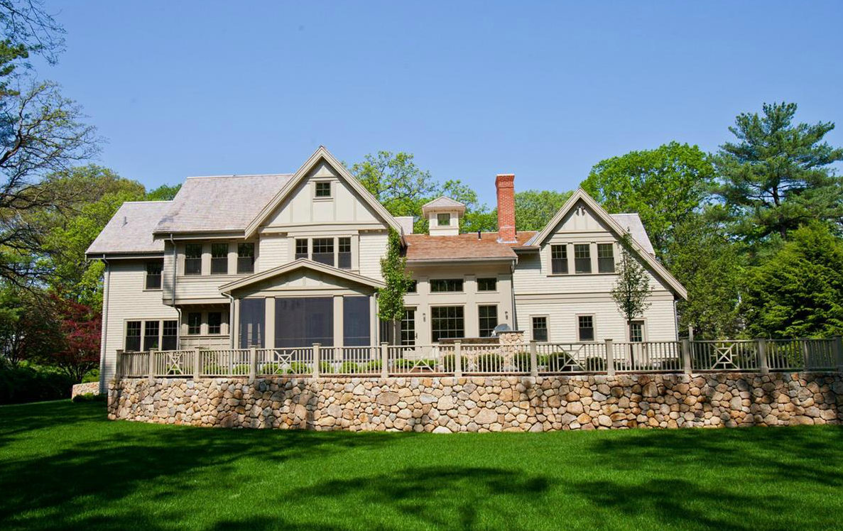Shingle Style Colonial New Build In Wellesley, MA