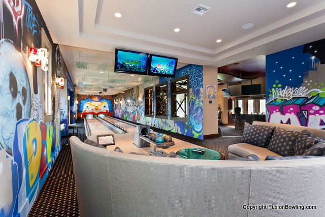 Luxury Home Realty Absolute Bowling Alley And Arcade