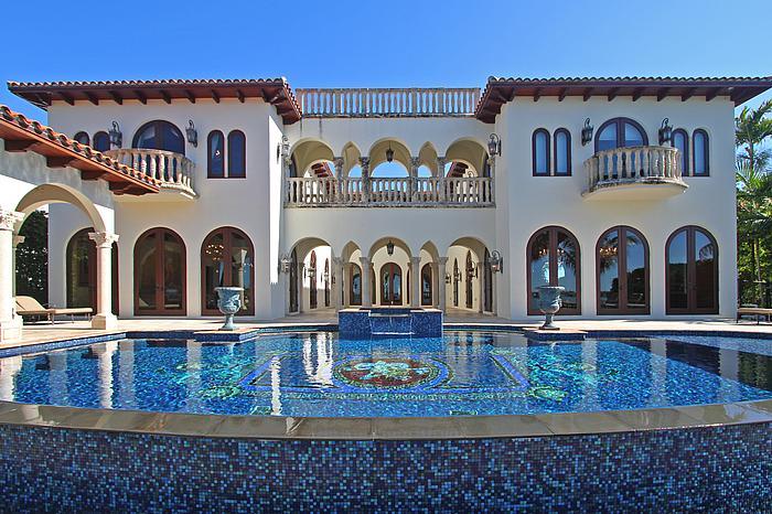 $10.75 Million Waterfront Mediterranean Mansion In Miami Beach, FL