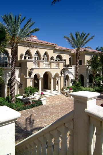 Floor Front Elevation Jersey : Square foot mediterranean mega mansion in manalapan