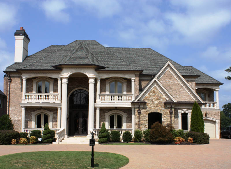14 000 square foot european inspired mansion 8035 for European mansions for sale