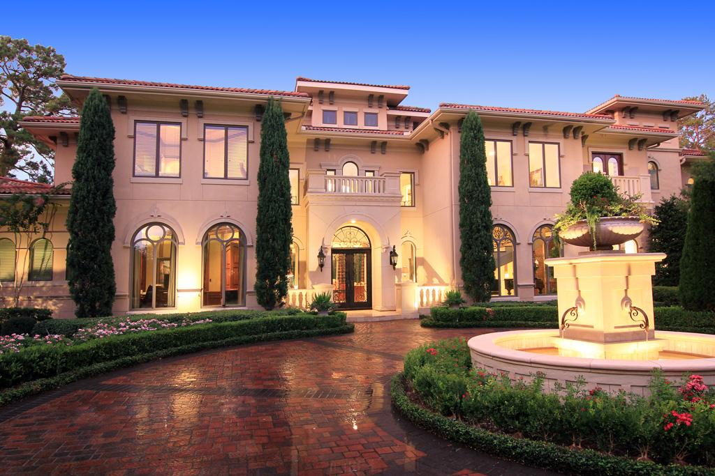 Newly Listed Gated Tuscan Mansion In Houston Tx Homes