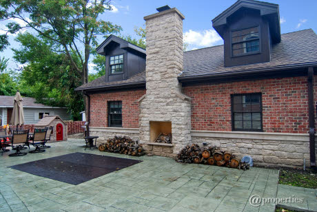 Brick And Limestone New Build In Chicago, IL