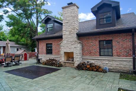 Brick And Limestone New Build In Chicago, IL