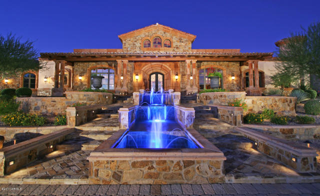 Beautiful Tuscan Inspired Home In Scottsdale Az Homes
