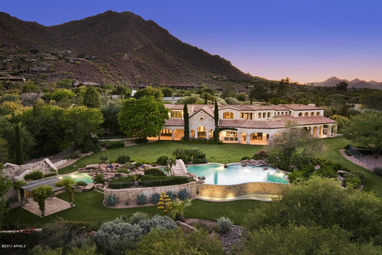 $12.5 Million Estate In Paradise Valley, AZ