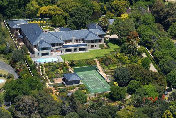 Grand 35 000 Square Foot Mega Mansion In Cape Town South
