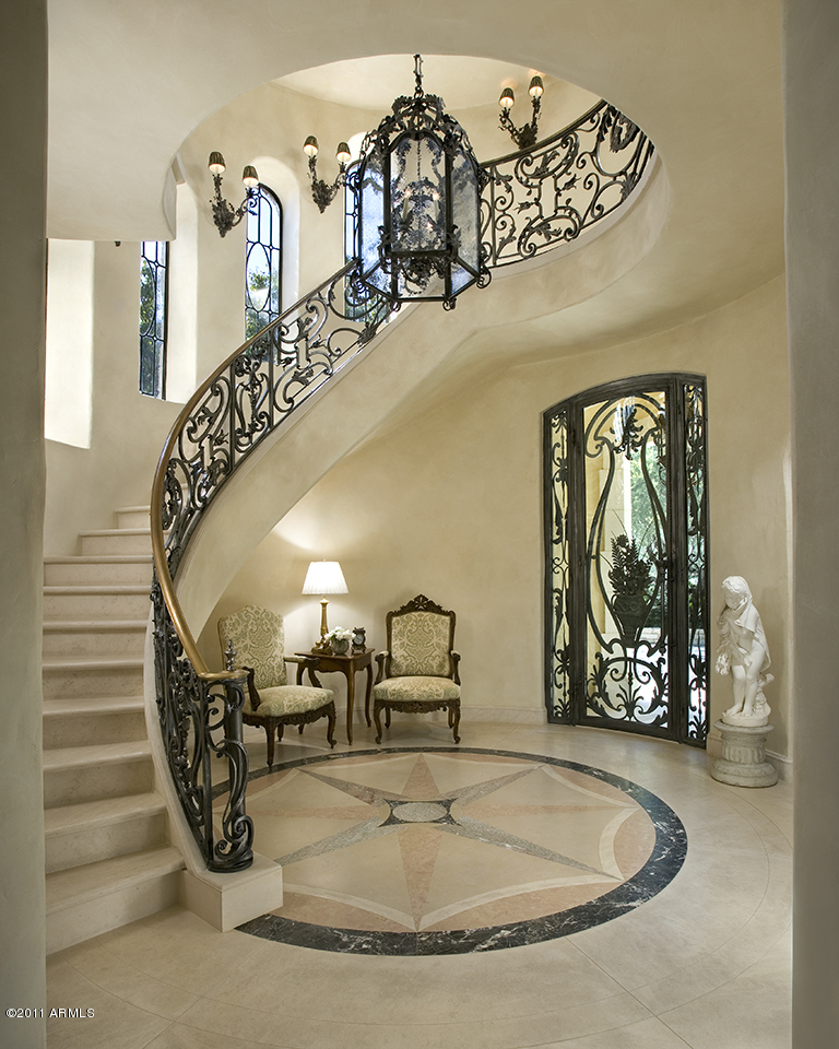 Paradise Valley Az Home Luxury Stairs Gallery