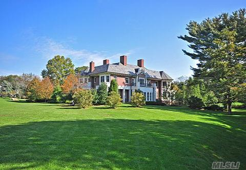 12 000 Square Foot Brick Manor Home In Old Westbury Ny