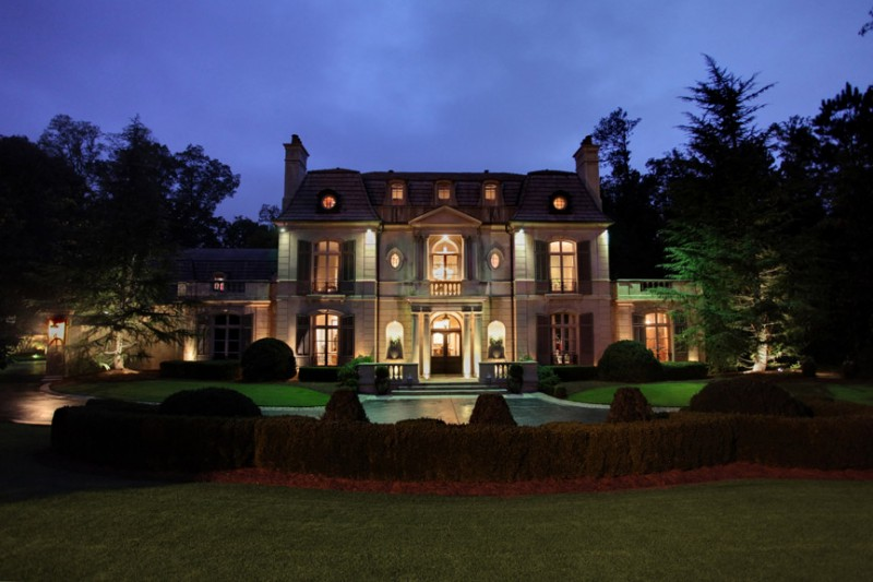 17 000 square foot french provincial mansion in atlanta for The tuxedo house