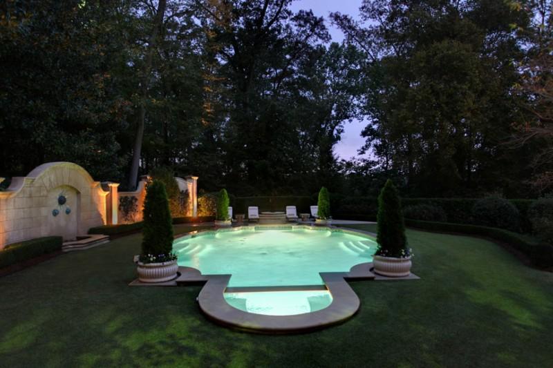 17,000 Square Foot French Provincial Mansion In Atlanta, GA