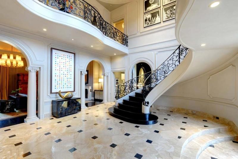 Atlanta Ga Mansion Luxury Stairs Gallery