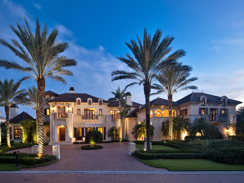 13 800 Square Foot Mansion In The Estates At Bay Colony