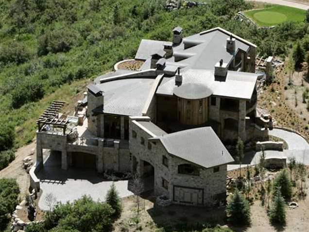12000 Square Foot Stone Mansion In Park City UT