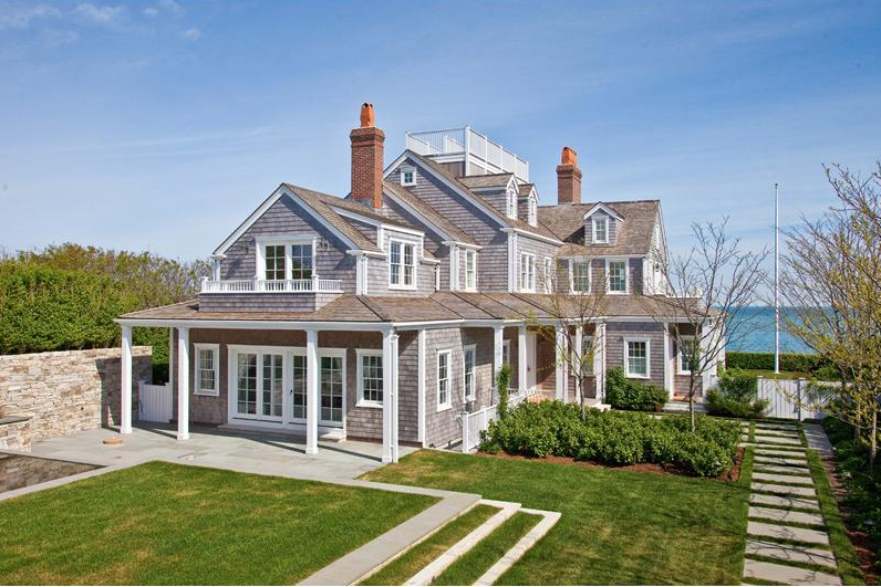 Million shingle home in nantucket ma homes of for Nantucket style home plans