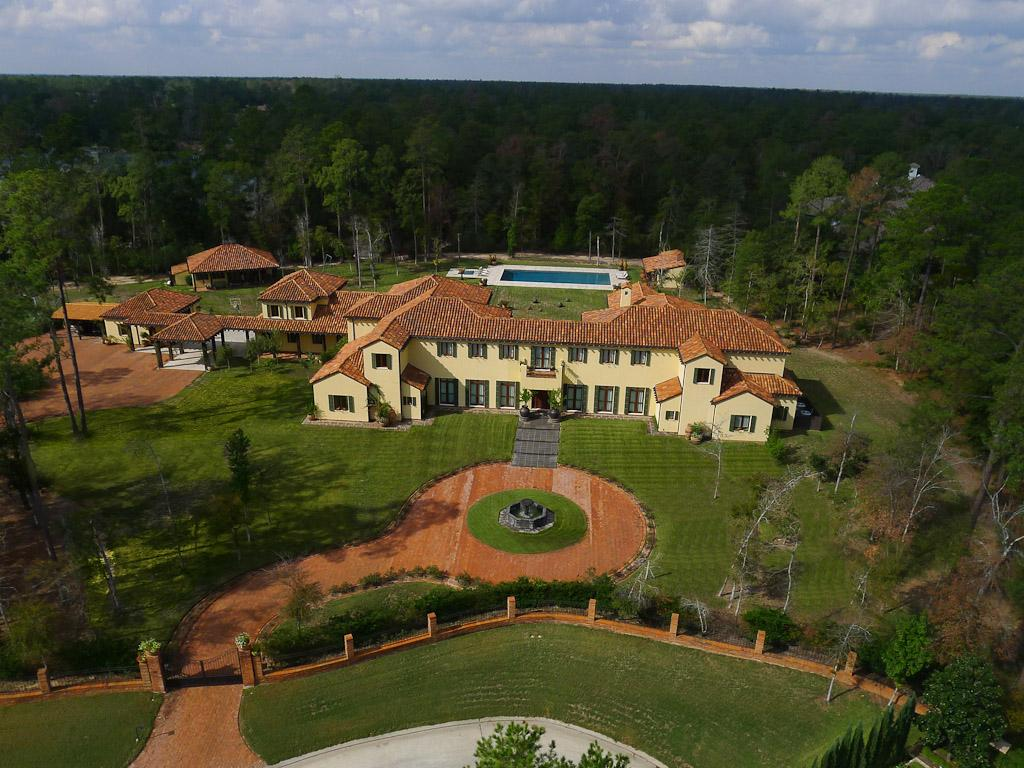 Newly Listed 14 Million Tuscan Estate In The Woodlands